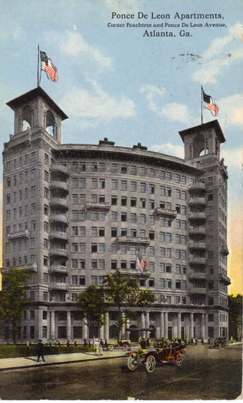 SouthernEdition.com  The Ponce de Leon Apartments:  One of Atlanta's Most Distinguished and Endangered Properties